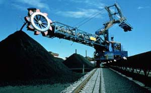 Austrlaian coal dredge